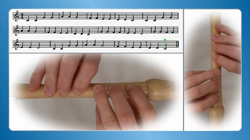 Blockflöte lernen spielen