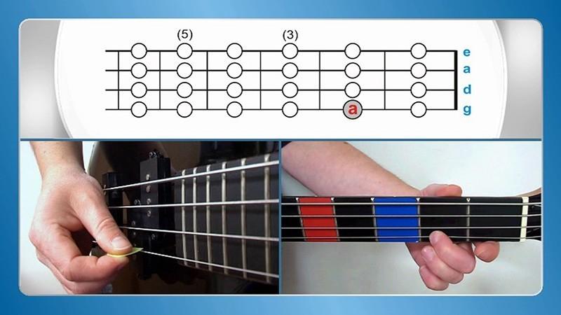 E-Bass lernen Bass gitarre für Anfänger