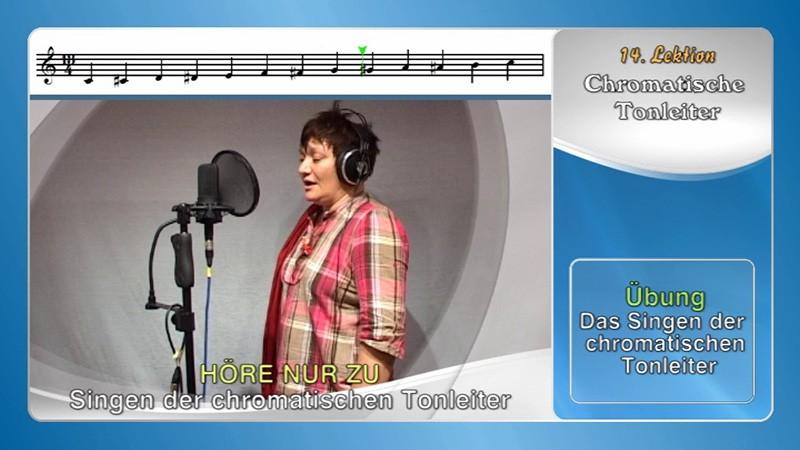 Gesangsunterricht zu Hause