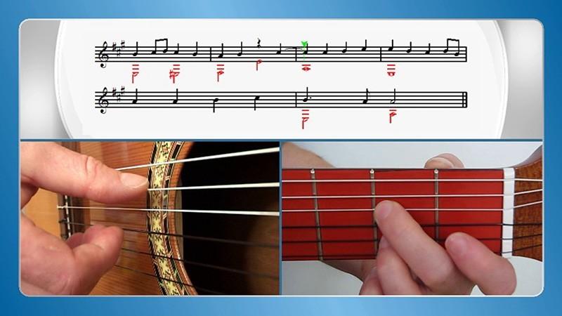 Gitarre lernen zu Hause