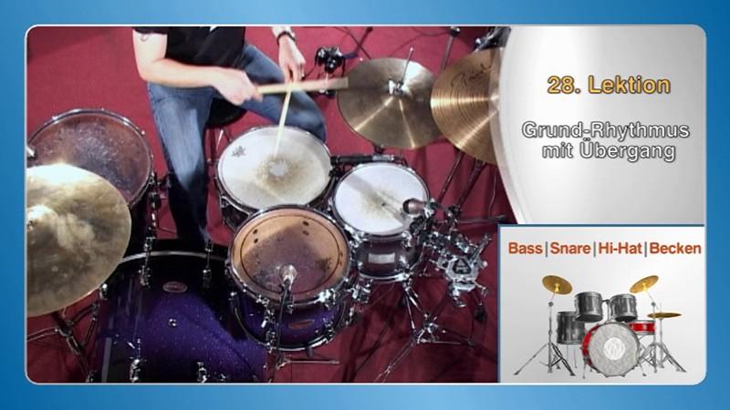 Schlagzeug lernen zu Hause