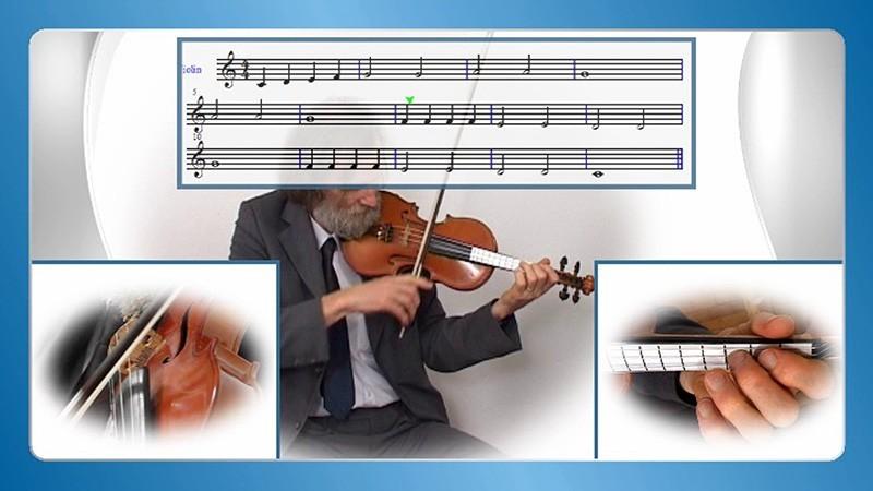 Violine Geige lernen zu hause