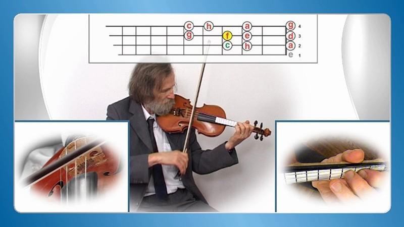 Violine Geige lernen für Anfänger