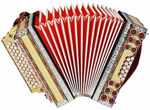 diatonisches Akkordeon, steirische Harmonika