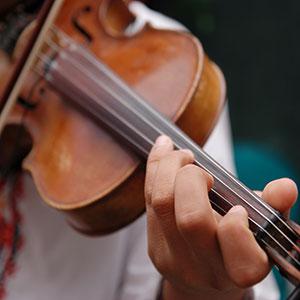 Geige Violine spielen