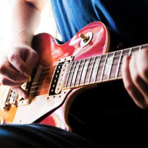 elektrische Gitarre Gitarrengriffe