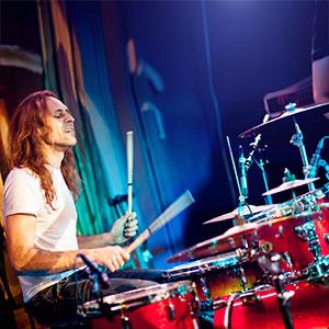 Schlagzeuger Trommel