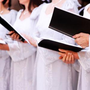 in der Kirche singen